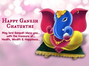 Happy Ganesh Vinayaka Chaturthi WhatsApp Dp & FB Profile Picture