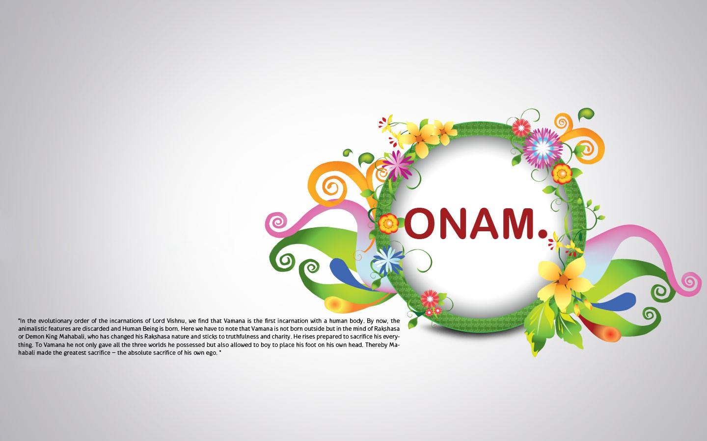 Download Happy Onam Wishes HD Wallpaper