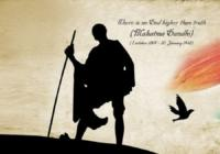 Gandhi Jayanti Facebook Cover Photo, Banners, WhatsApp Dp & FB Profile Picture