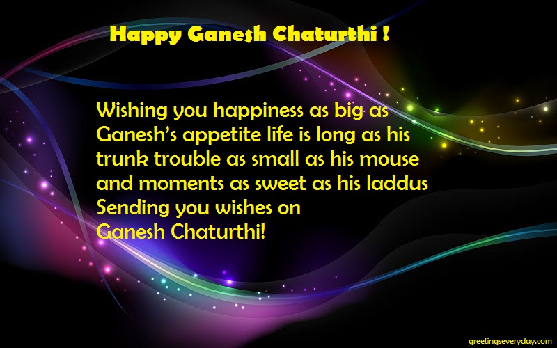 Ganesh Chaturthi Wishes WhatsApp & Facebook Status in English