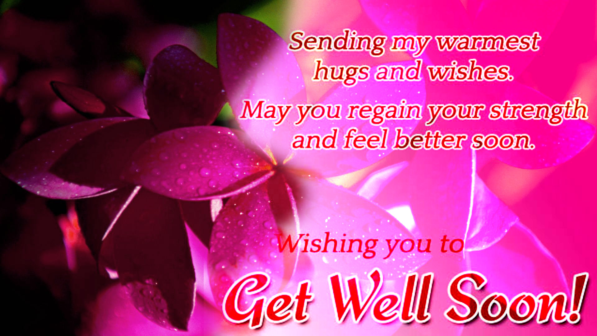 Get well soon better recovery poems wish you feel better soon