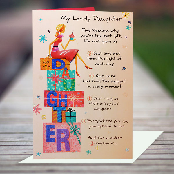 Happy Daughter's Day Wishes Gift Cards