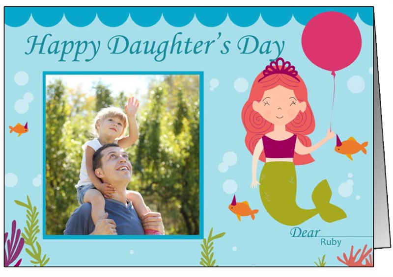 Happy Daughter's Day Wishes Greeting Cards & Ecards
