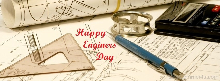 Happy Engineer Day Facebook & Google Plus Cover Photos & Banners