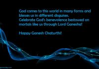 Happy Ganesh/ Vinayaka Chaturthi Wishes Quotes