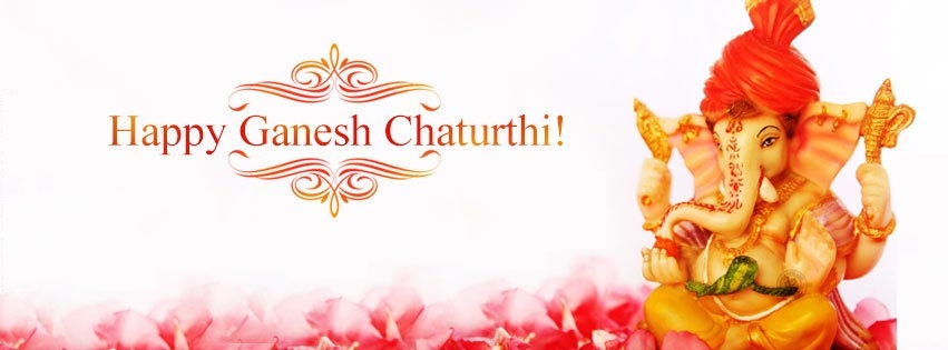 Happy Ganesh/ Vinayaka Chaturthi Facebook [FB] & Google Plus Cover Photo