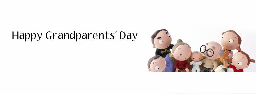 Happy Grandparent's Day Facebook & GPlus Cover Pictures & Banners