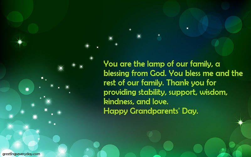 Happy Grandparent's Day Wishes Facebook & WhatsApp Messages & SMS