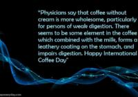 Happy International Coffee Day WhatsApp & Facebook Status, Messages & SMS