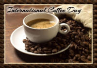 Happy International Coffee Day Wishes Greeting Cards, Ecards, Images & Pictures