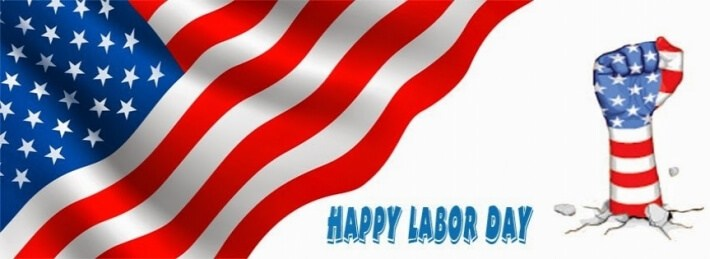 Happy Labor Day 2016 Banners