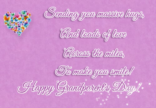 Happy Grandparents Day Wishes Gift Cards