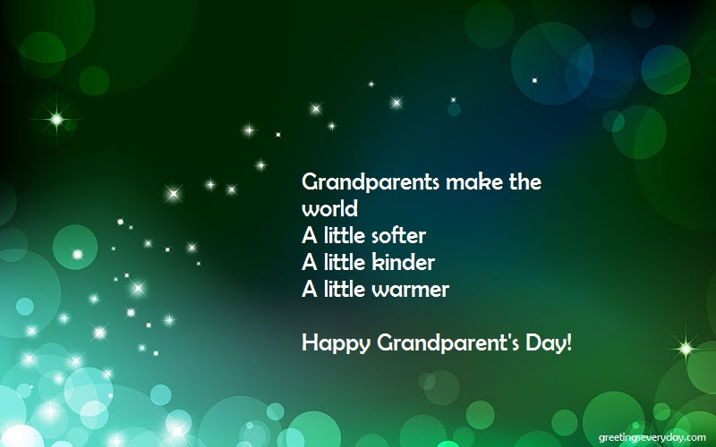 Happy National Grandparent's Day Wishes WhatsApp & Facebook Status
