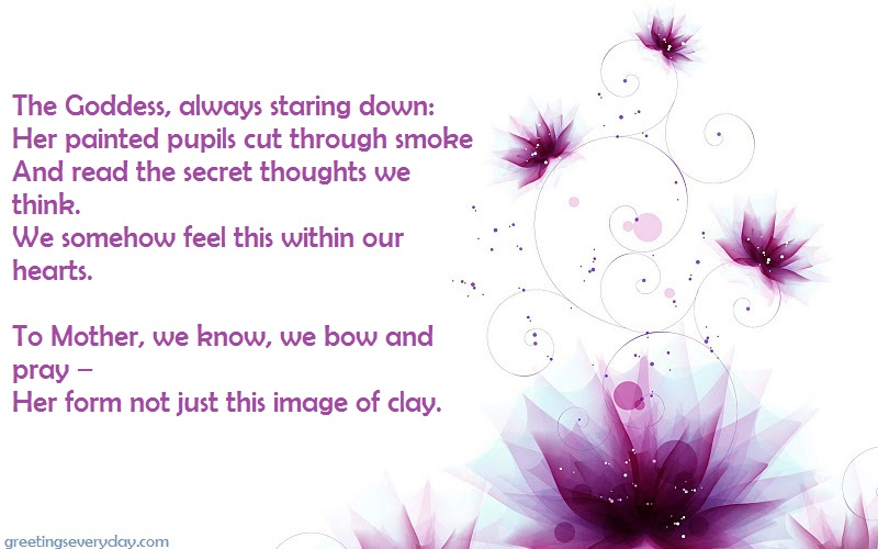 Happy Navratri/ Durga Puja Wishes Shayari & Poems in English