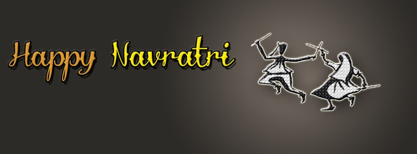 Happy Navratri Maa Durga Facebook FB Cover Photos Free Download