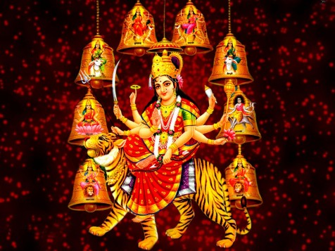 Happy Navratri/ Maa Durga Puja WhatsApp Dp & Facebook Profile Picture