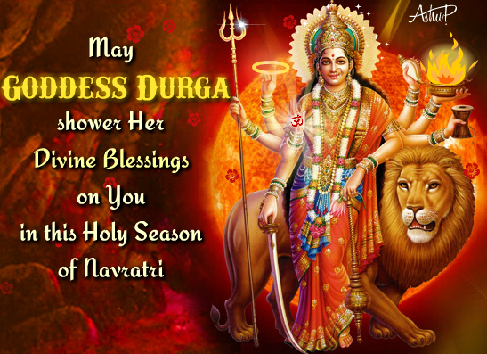 Happy Navratri Wishes Images in English For WhatsApp & Facebook