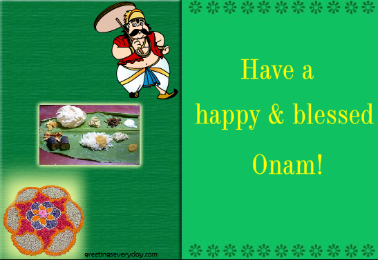 Happy Onam Wishes Greeting Cards & Ecards