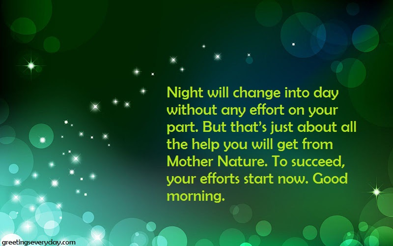 inspirational motivational good morning wishes messages