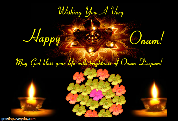 Best happy onam 2017 greeting cards images pictures in english special happy onam wishes gift cards m4hsunfo