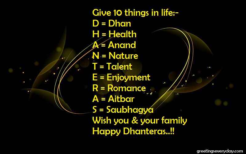 Happy Dhanteras Pictures For WhatsApp