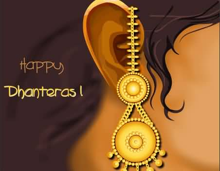 Happy Dhanteras Wishes 3D Greeting Card