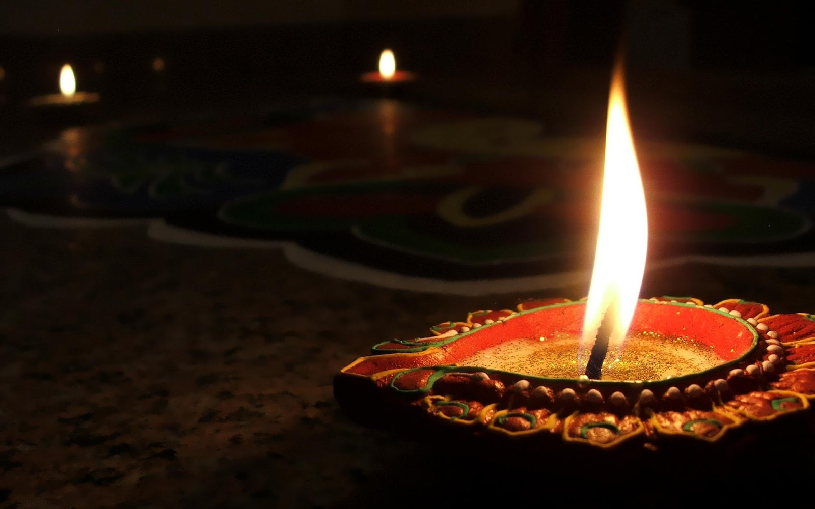 Deepavali Diya HD Wallpaper