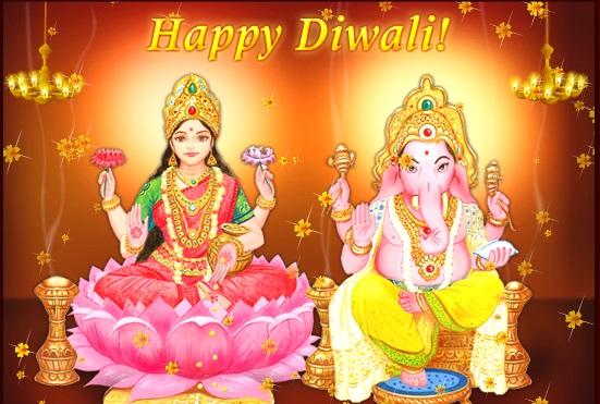 Happy Diwali /Deepavali Greeting Card For Brother & Sister
