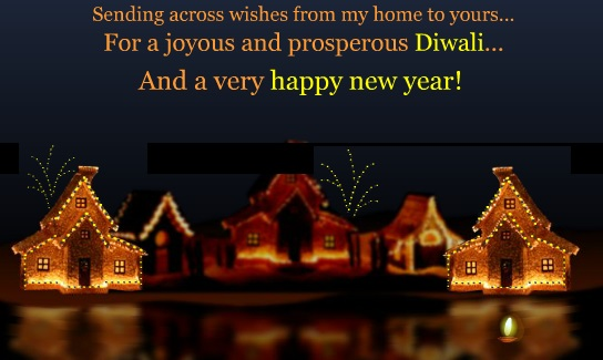 Happy Diwali /Deepavali Greeting Card For Mother & Father