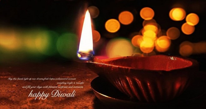 Diwali / Deepavali Wishes Picture For Friend