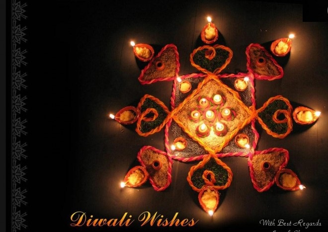 Diwali / Deepavali Wishes Free eCards For Best Friend