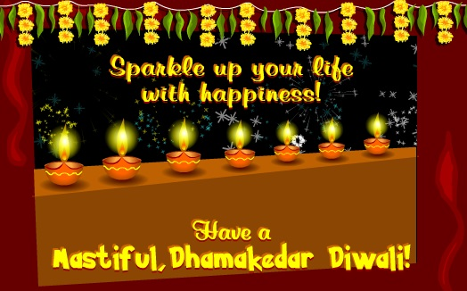 Happy Diwali Wishes Image For Boyfriend & Girlfriend