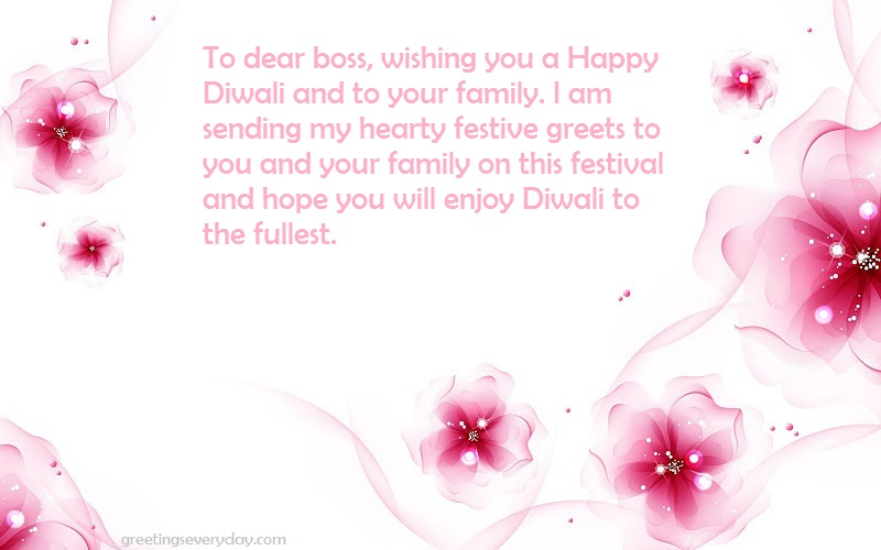 Diwali Wishes, Messages & SMS For Boss