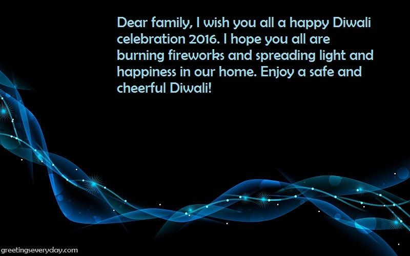 Diwali SMS For Family