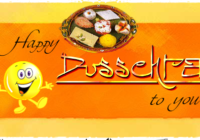 Happy Dussehra/ Vijayadashami Wishes Greeting Card For Best Friends & Family