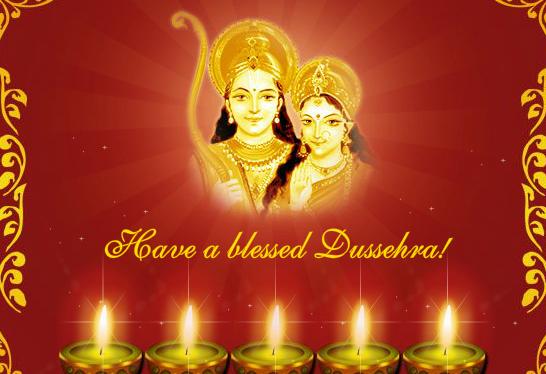 Free Dussehra Vijayadashami 2016 Wishes Images & Pictures For Boyfriend & Girlfriend