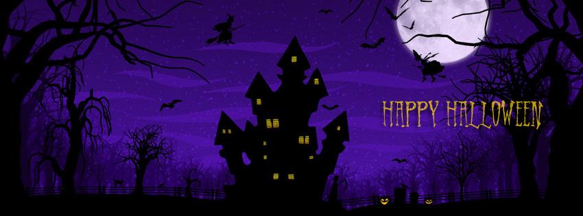 Halloween Facebook, Google+ & Twitter Banners