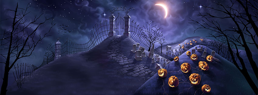 happy halloween whatsapp dp  facebook cover pictures