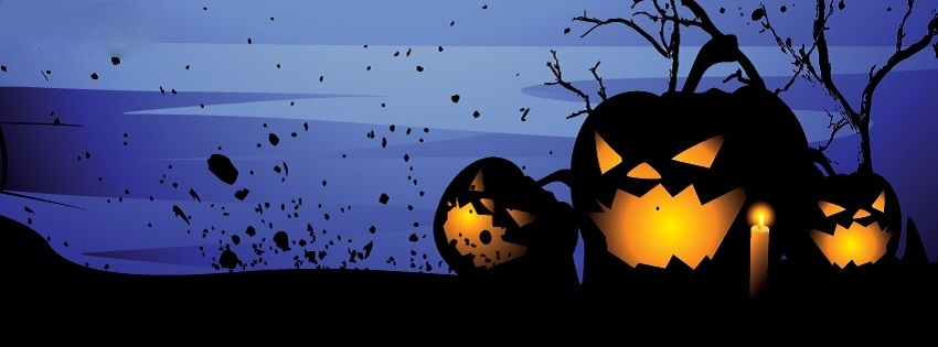 Halloween Facebook, Google+ & Twitter Cover Picture