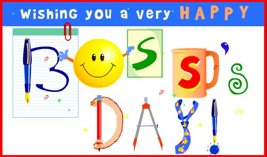 Happy Boss Day Wishes Greeting Cards, Free Ecards & Gift Cards