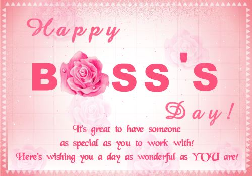 Happy boss day wishes greeting cards free ecards gift cards free printable boss day ecards m4hsunfo