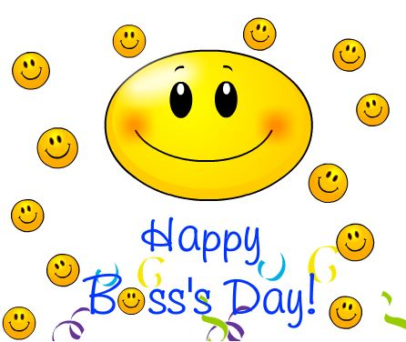 Happy boss's Day Greeting Card Message