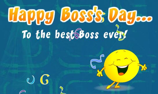 Happy boss day wishes greeting cards free ecards gift cards free printable bosss day greeting cards m4hsunfo Image collections