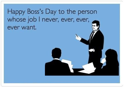 Happy Boss's Day Wishes Funny MEMES Images