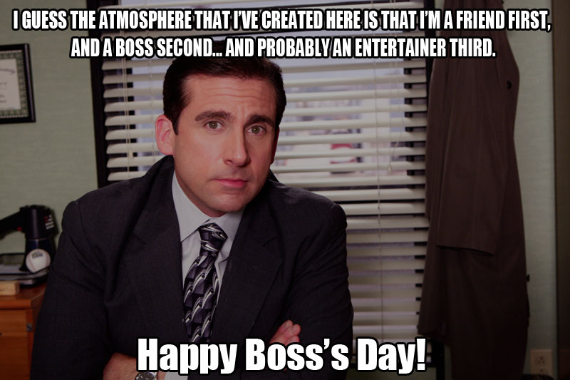 Happy Boss's Day Wishes Funny MEMES Photos