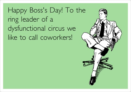 Happy Boss's Day Wishes Funny MEMES