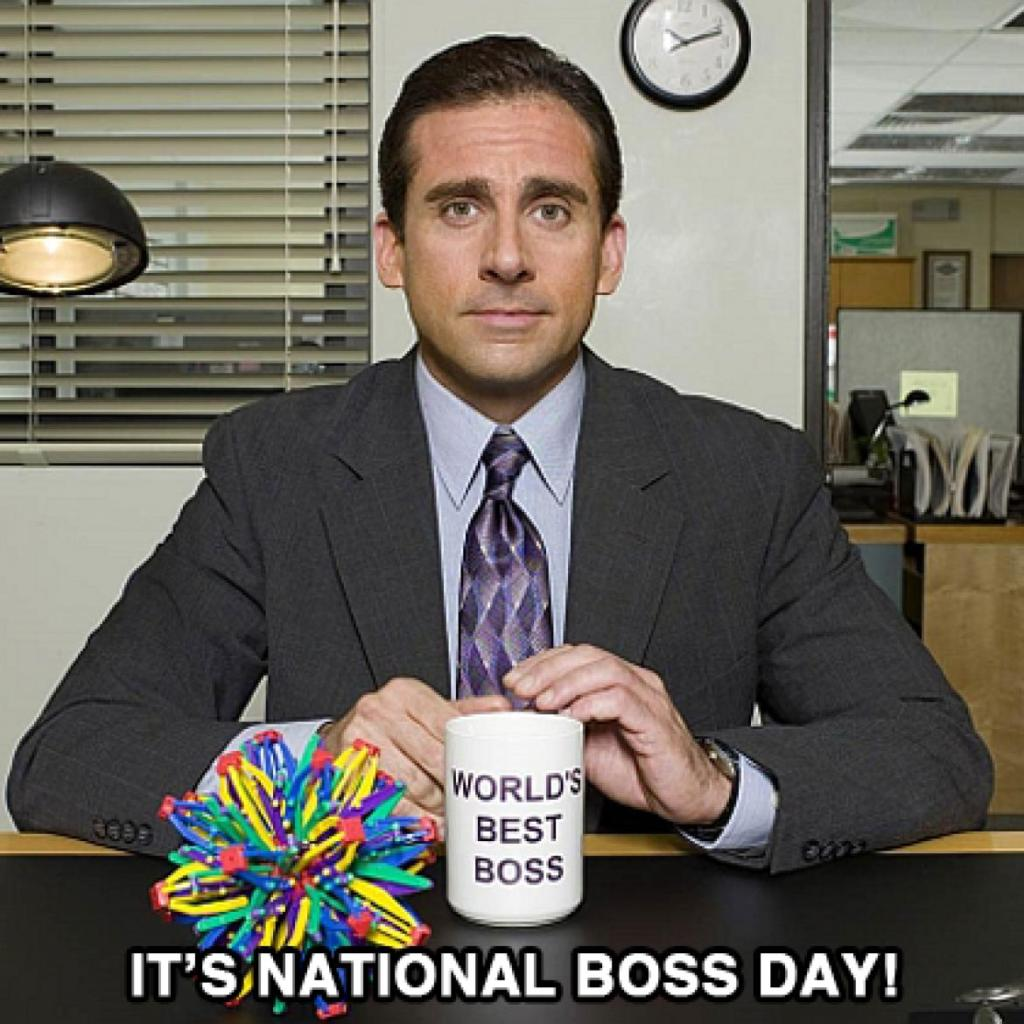 Happy Boss's Day Wishes Funny MEMES Pictures
