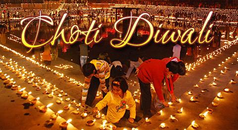 Happy Choti Diwali Wishes Greeting Card, Images & Picture