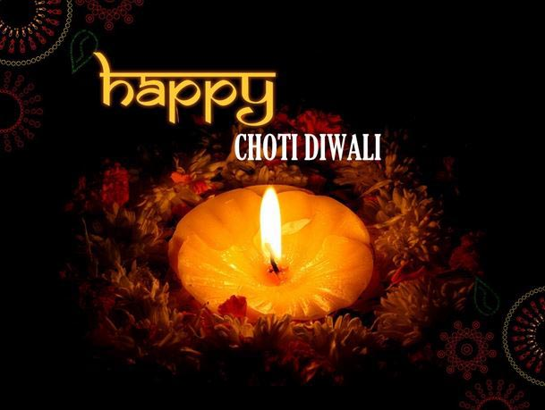 Happy Choti Diwali Wishes Image