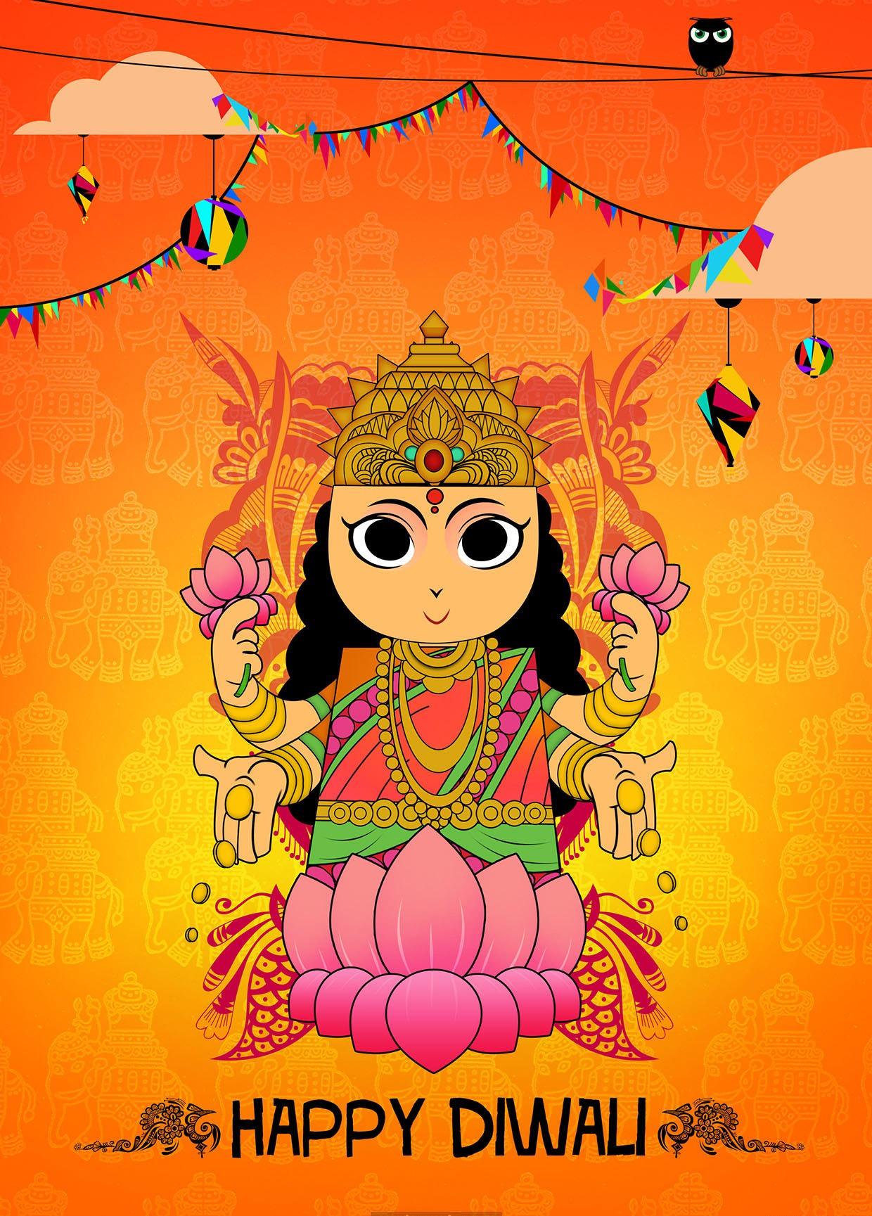 Happy Deepavali Card